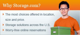 Why Storage.com? The most choices offered in location, size and price. Storage solutions across the U.S. Worry-free online reservations.